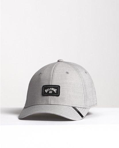 2 Surftrek Stretch - Fitted Hat for Men Grey S5CF01BIP0 Billabong