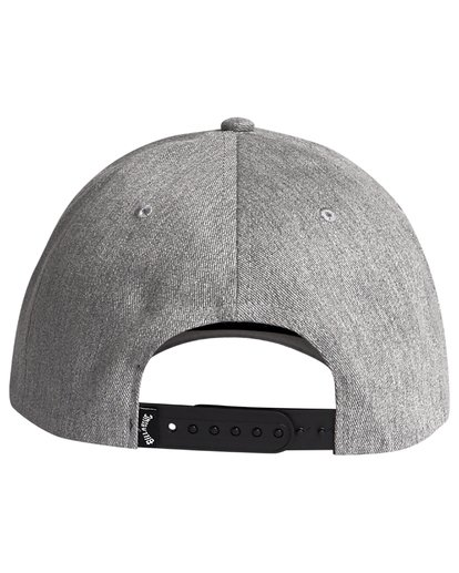 4 Theme - Snapback Cap for Men Grey S5CM01BIP0 Billabong