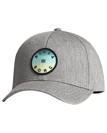 5 Theme - Snapback Cap for Men Grey S5CM01BIP0 Billabong