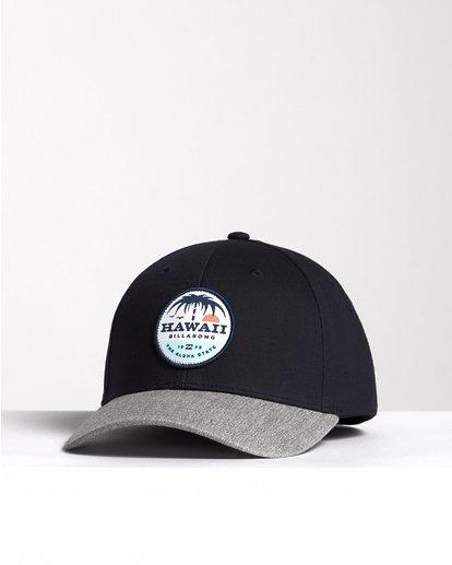 2 Dreamy Place - Snapback Cap für Herren Blau S5CM02BIP0 Billabong