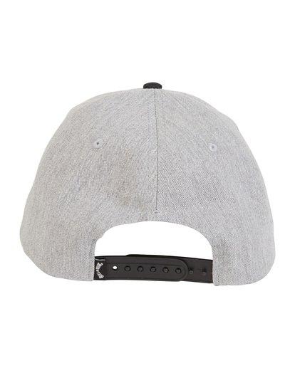 7 Walled - Snapback Hat for Men Black S5CM03BIP0 Billabong