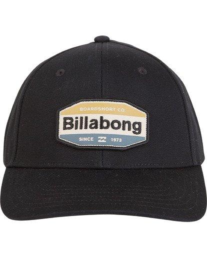 4 Walled - Snapback Hat for Men Grey S5CM03BIP0 Billabong