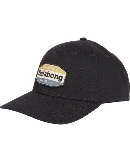 3 Walled - Snapback Hat for Men Grey S5CM03BIP0 Billabong