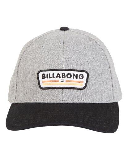 3 Walled - Snapback Hat for Men Black S5CM03BIP0 Billabong