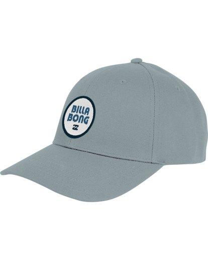 3 Walled - Snapback Cap für Herren Blau S5CM03BIP0 Billabong