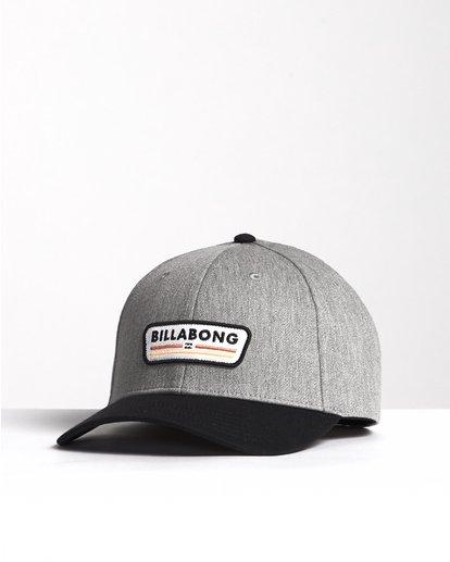 2 Walled - Snapback Hat for Men Black S5CM03BIP0 Billabong