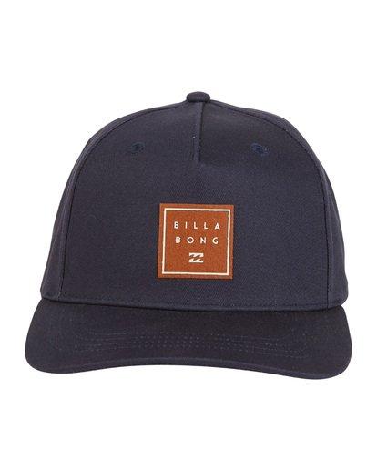 8 Stacked - Snapback Hat for Men Blue S5CM04BIP0 Billabong