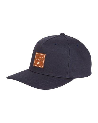 6 Stacked - Snapback Hat for Men Blue S5CM04BIP0 Billabong