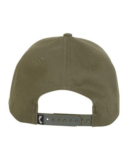 7 Stacked - Gorra de cierre ajustable para Hombre Verde S5CM04BIP0 Billabong