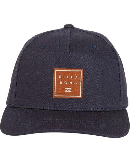 4 Stacked - Snapback Hat for Men Blue S5CM04BIP0 Billabong