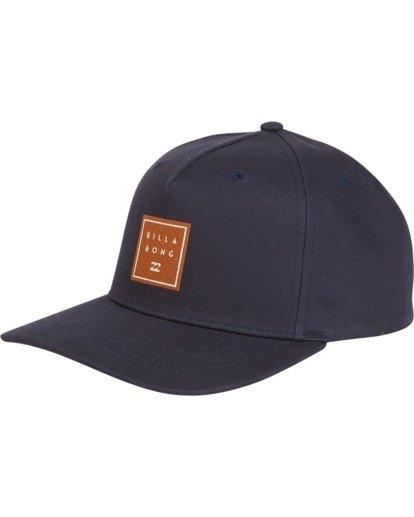 3 Stacked - Snapback Hat for Men Blue S5CM04BIP0 Billabong