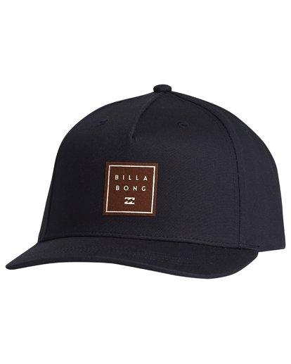 5 Stacked - Snapback Hat for Men Blue S5CM04BIP0 Billabong