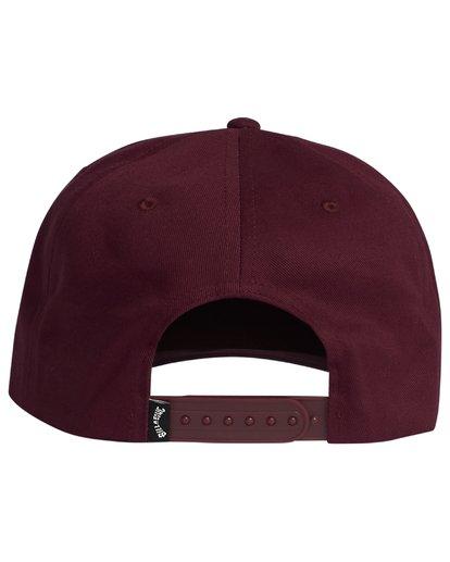 4 Stacked - Snapback Hat for Men  S5CM04BIP0 Billabong