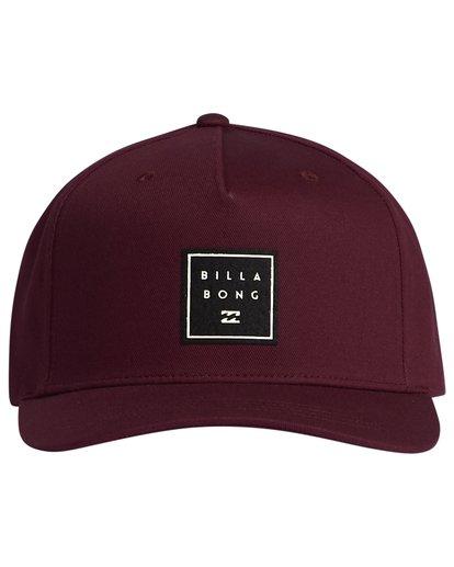3 Stacked - Snapback Hat for Men  S5CM04BIP0 Billabong