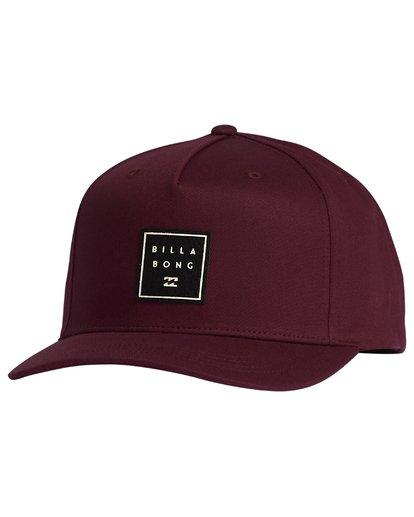5 Stacked - Snapback Hat for Men  S5CM04BIP0 Billabong