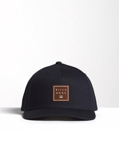 0 Stacked - Snapback Hat for Men Blue S5CM04BIP0 Billabong