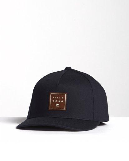 2 Stacked - Snapback Hat for Men Blue S5CM04BIP0 Billabong