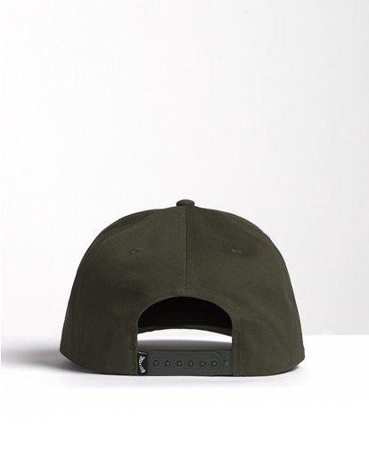 1 Stacked - Gorra de cierre ajustable para Hombre Verde S5CM04BIP0 Billabong