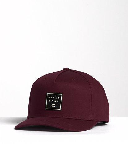 2 Stacked - Snapback Hat for Men  S5CM04BIP0 Billabong