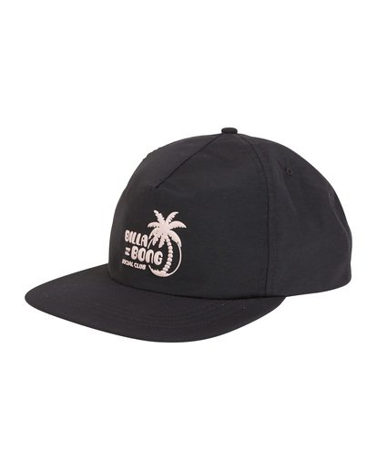 6 Wallride - Strap Back Hat for Men Black S5CM06BIP0 Billabong