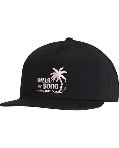 5 Wallride - Strap Back Hat for Men Black S5CM06BIP0 Billabong