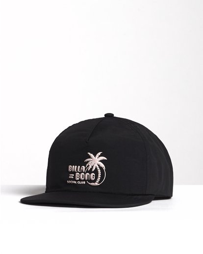 2 Wallride - Strap Back Hat for Men Black S5CM06BIP0 Billabong