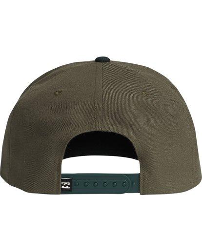 4 Mixed - Snapback Cap for Men Green S5CM09BIP0 Billabong