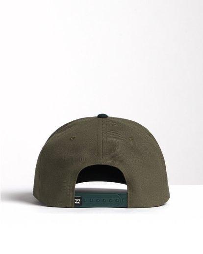 1 Mixed - Snapback Cap for Men Green S5CM09BIP0 Billabong