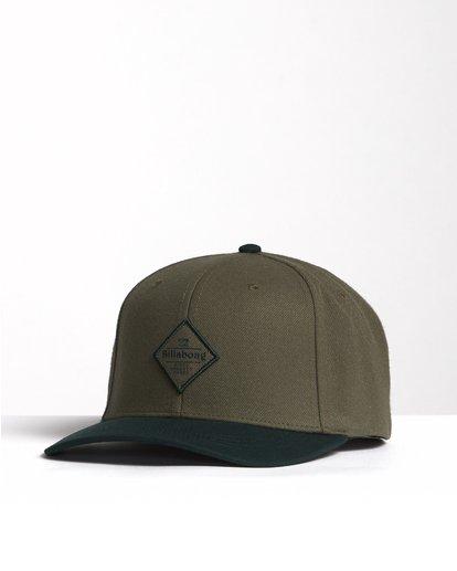 2 Mixed - Snapback Cap for Men Green S5CM09BIP0 Billabong
