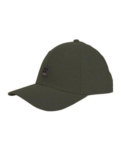 3 Surftrek - Snapback Hat for Men Camo S5CM13BIP0 Billabong