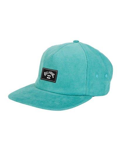 6 Slammed Strapback - Strapback Cap for Men Blue S5CS01BIP0 Billabong