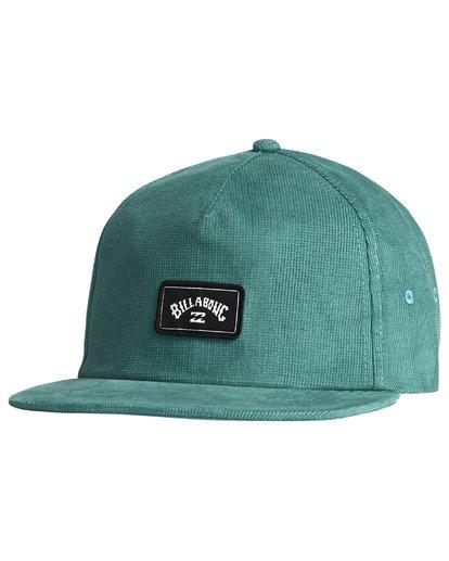 5 Slammed Strapback - Strapback Cap for Men Blue S5CS01BIP0 Billabong