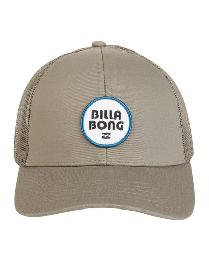 8 Walled - Trucker Hat for Men Green S5CT02BIP0 Billabong