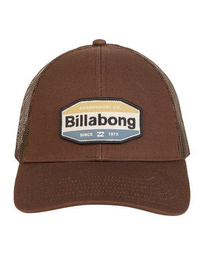 8 Walled - Trucker Hat for Men Brown S5CT02BIP0 Billabong
