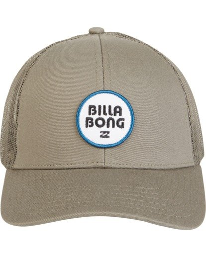4 Walled - Trucker Hat for Men Green S5CT02BIP0 Billabong
