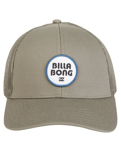 3 Walled - Trucker Hat for Men Green S5CT02BIP0 Billabong