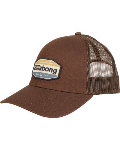 3 Walled - Gorra de visera curvada para Hombre Marron S5CT02BIP0 Billabong