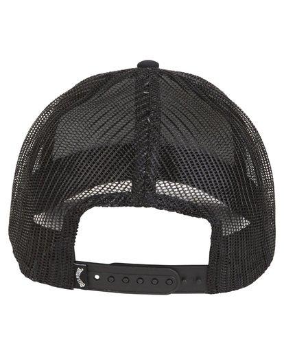 4 Walled - Trucker Hat for Men Grey S5CT02BIP0 Billabong