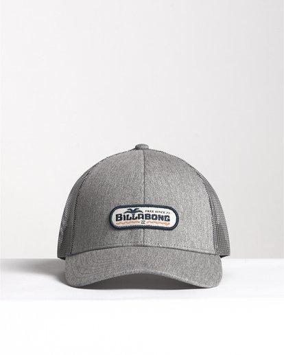 0 Walled - Trucker Cap für Herren Grau S5CT02BIP0 Billabong