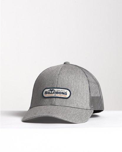 2 Walled - Trucker Cap für Herren Grau S5CT02BIP0 Billabong