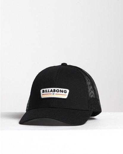 2 Walled - Trucker Hat for Men Grey S5CT02BIP0 Billabong