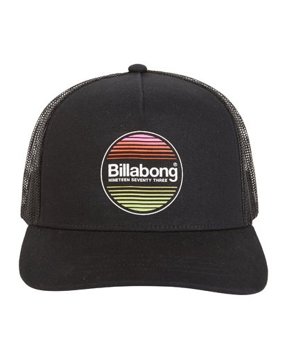 8 Flatwall - Trucker Hat for Men Black S5CT04BIP0 Billabong