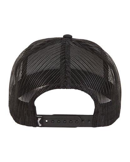 7 Flatwall - Trucker Hat for Men Black S5CT04BIP0 Billabong