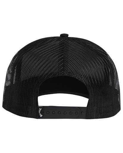 4 Flatwall - Trucker Hat for Men Black S5CT04BIP0 Billabong