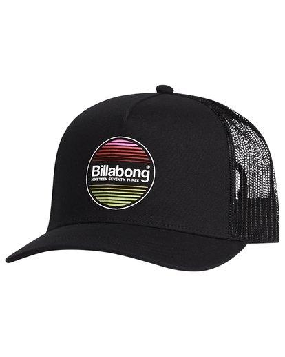 5 Flatwall - Trucker Hat for Men Black S5CT04BIP0 Billabong