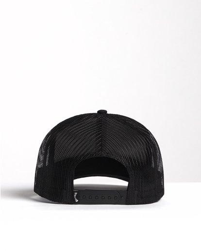 1 Flatwall - Trucker Hat for Men Black S5CT04BIP0 Billabong