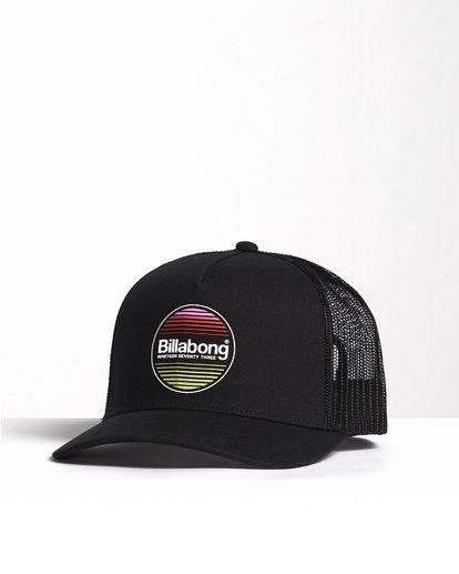 2 Flatwall - Trucker Hat for Men Black S5CT04BIP0 Billabong