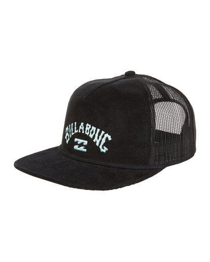 6 Alliance - Trucker Hat for Men Black S5CT05BIP0 Billabong