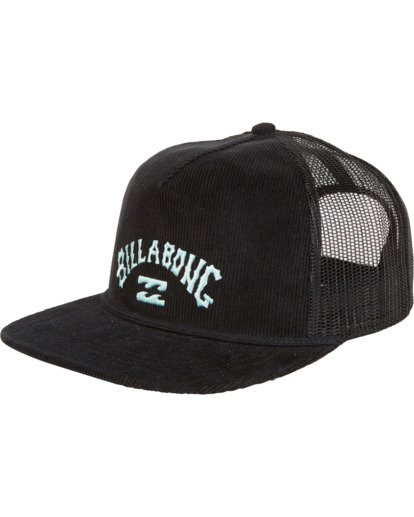 3 Alliance - Trucker Hat for Men Black S5CT05BIP0 Billabong