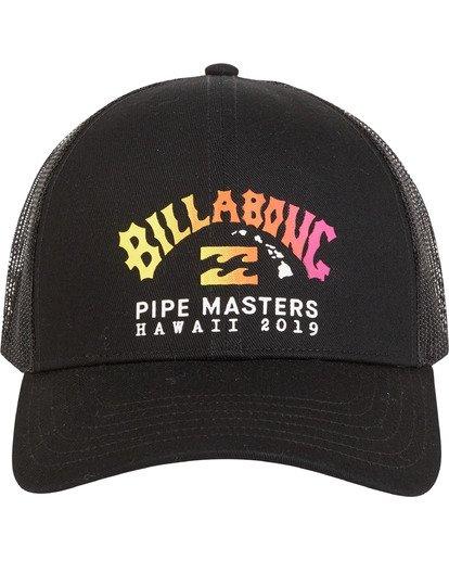 1 Pipe - Trucker Cap für Herren Schwarz S5CT08BIP0 Billabong